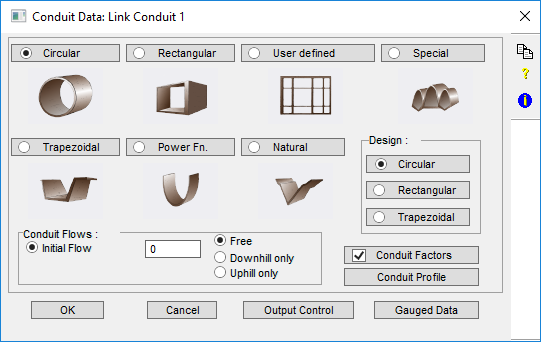 Single Conduit Link Data - xpswmm/xpstorm Resource Center - Innovyze